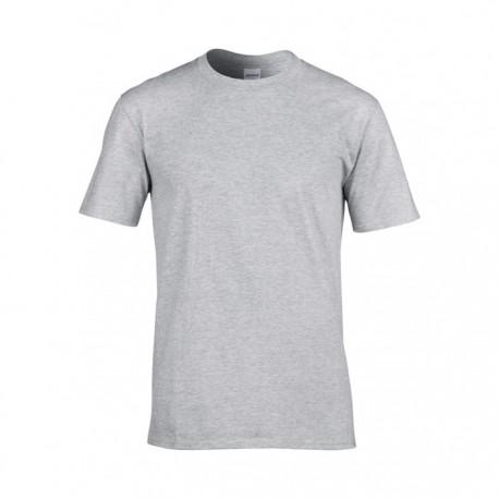 Gråmelerad t-shirt - Lokalpatriot