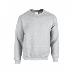 Gråmelerad sweatshirt - Lokalpatriot